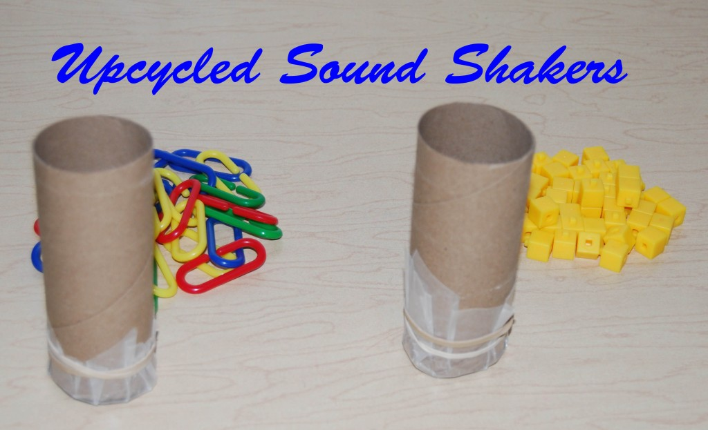 Upcycled Sound Shakers