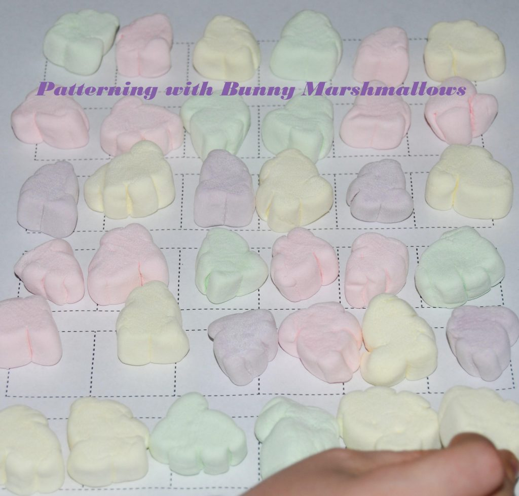 Patterning with Marshmallows