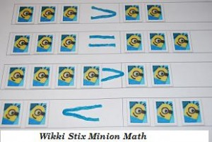Wikki Stix Minion Math Picture #4