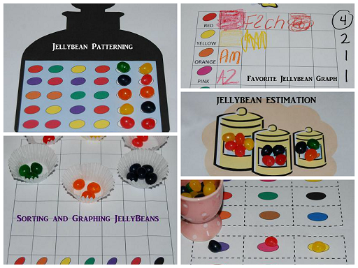 5 Jelly Bean Math Activities for Preschool and Kindergarten!