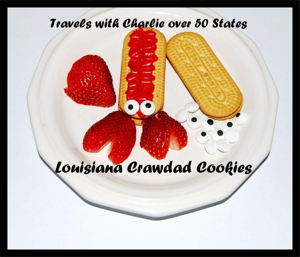 Crawdad Cookies