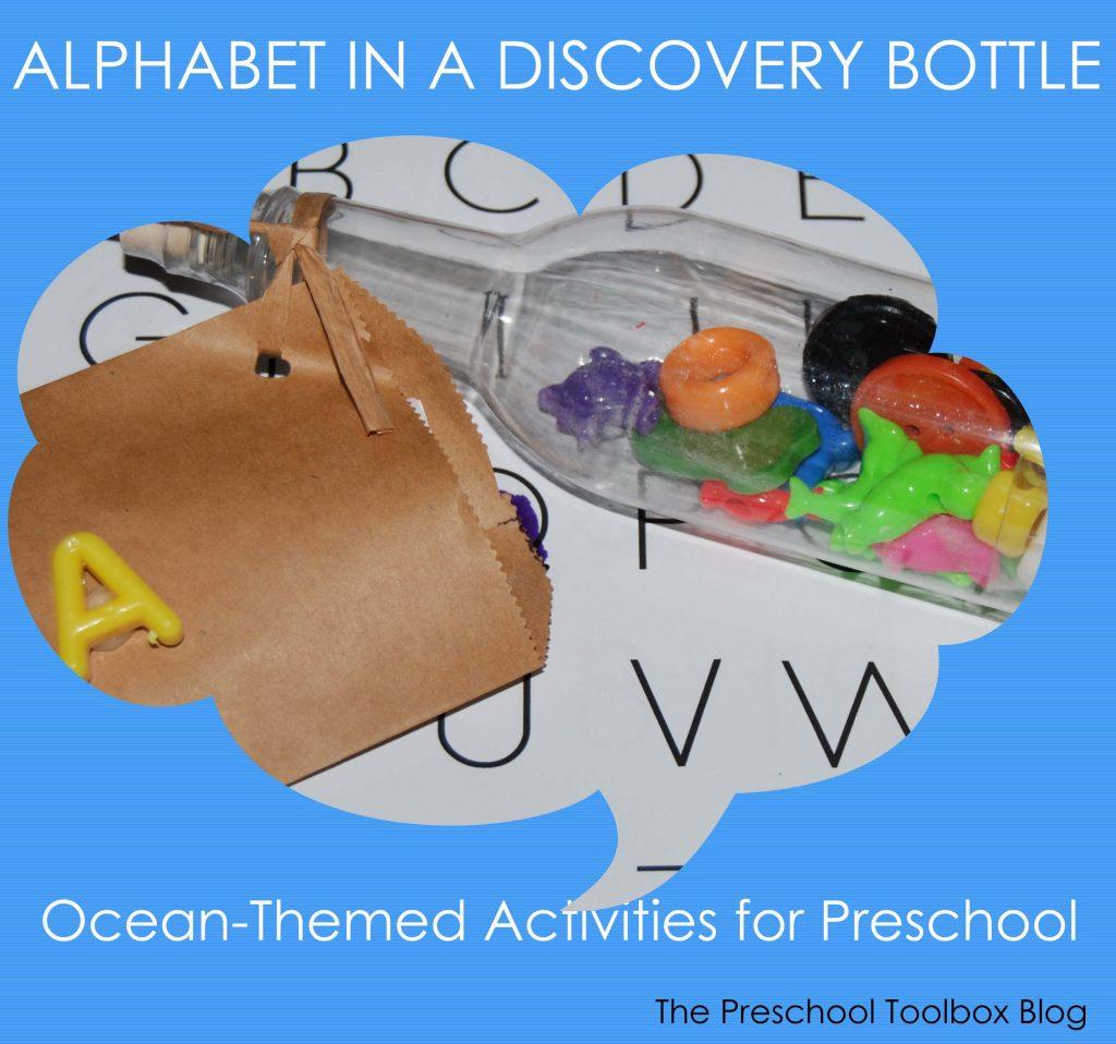 Alphabet Bottles