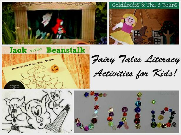 Fairy Tales Theme Literacy/Writing Activities for Preschool