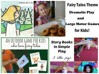 Fairy Tales Dramatic Play Collage_1