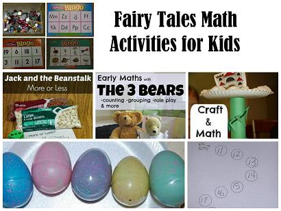 fairy tales math collage 1 the preschool toolbox blog. Black Bedroom Furniture Sets. Home Design Ideas