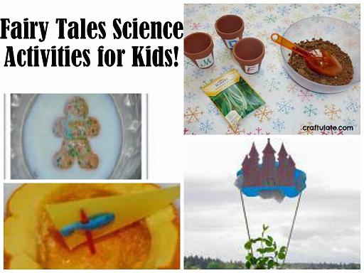 Fairy Tales Theme Science Activities for Preschool