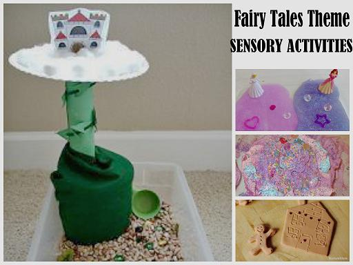 Fairy Tales Theme Sensory Activities for Preschool