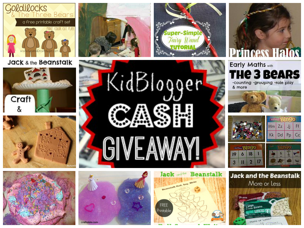 FAIRY TALES THEME ACTIVITY ROUND-UP & MEGA CASH GIVEAWAY!