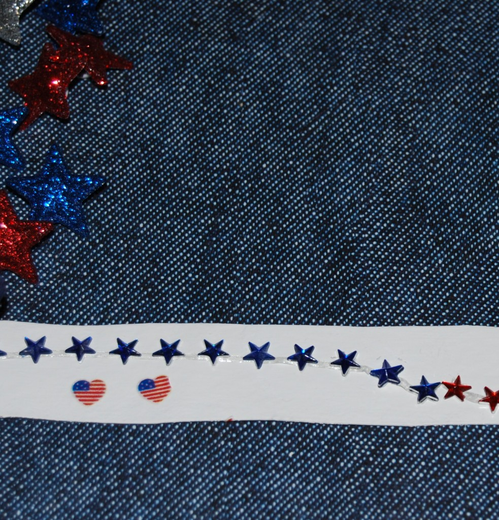 Patriotic Cardboard Tube Bracelets and Bands 009