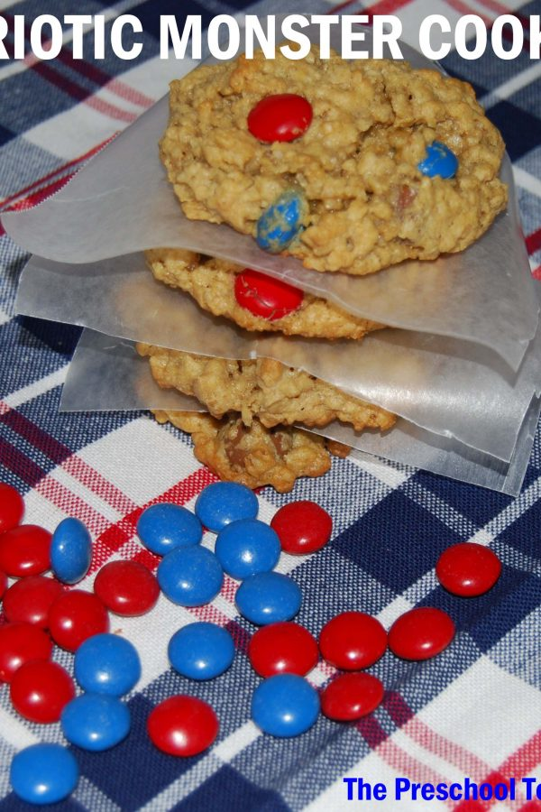 Patriotic Monster Cookie Recipe