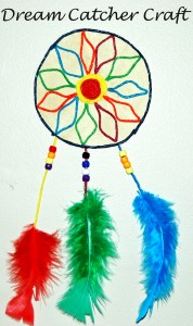 WS Dream Catcher Craft for Kids