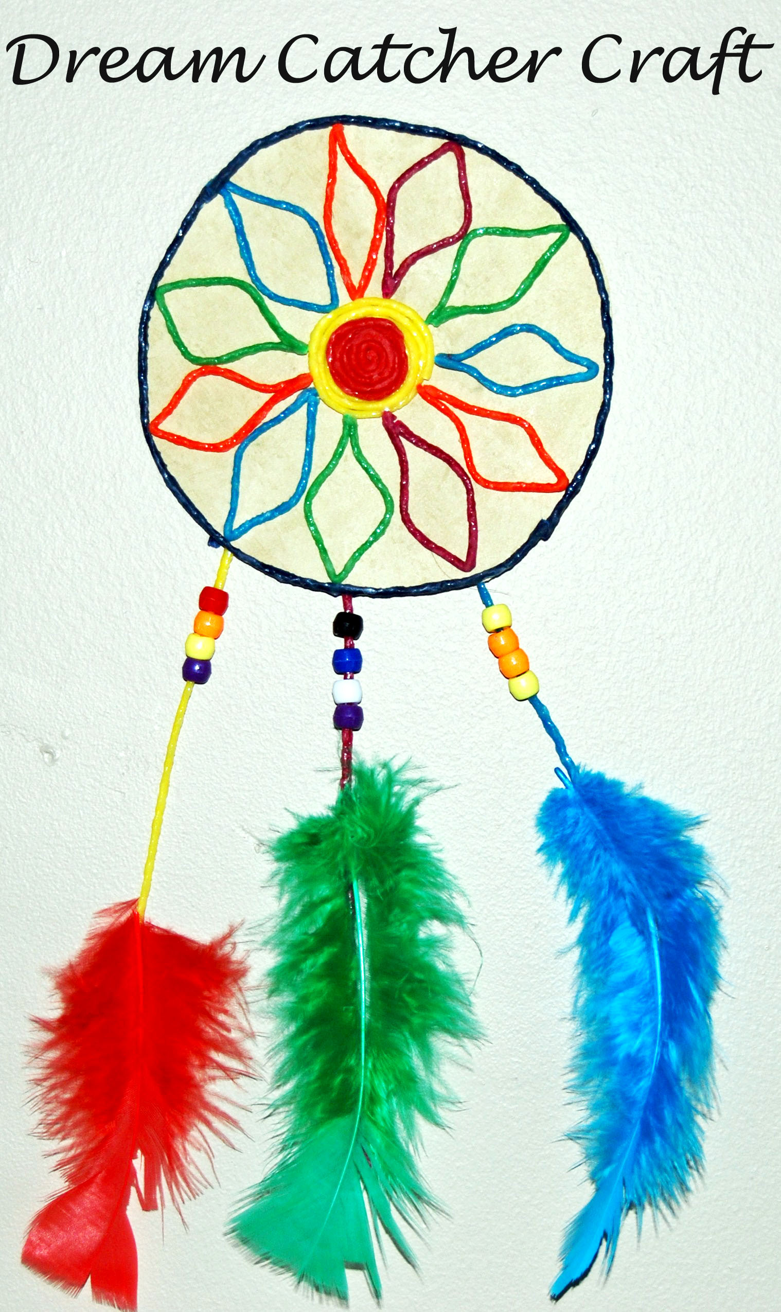 WS Dream Catcher Craft for Kids • The Preschool Toolbox Blog