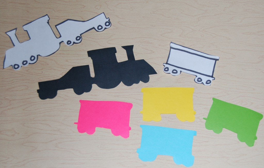 Textured Name Trains For Preschool Or Kindergarten!