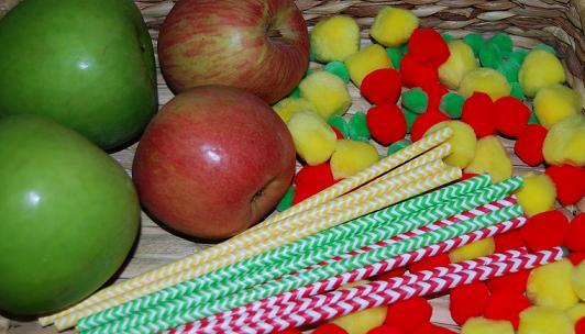 Apple Printed Pinwheels in Preschool 003