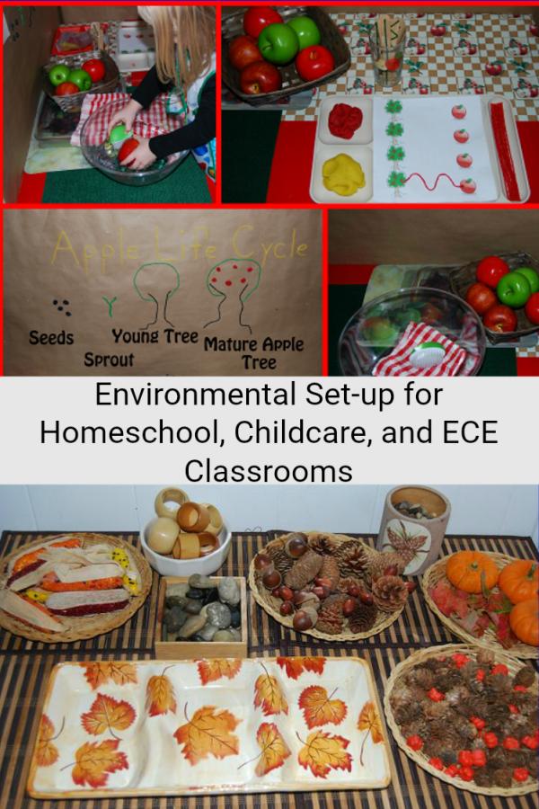 Preschool and Childcare Classroom Environmental Blog Hop