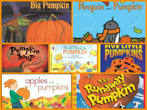 Pumpkin Books for Preschool
