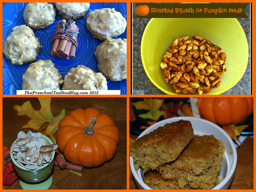 Fall and Pumpkin Foods to Make with Preschoolers