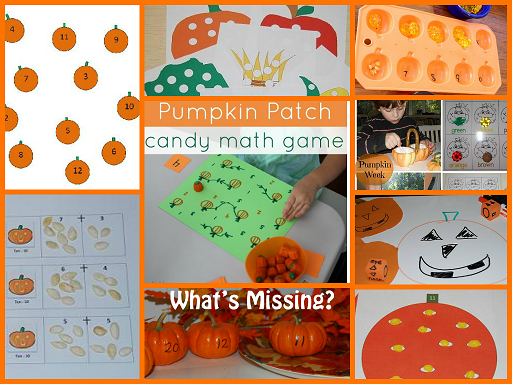 Pumpkin Math Activities for Preschool