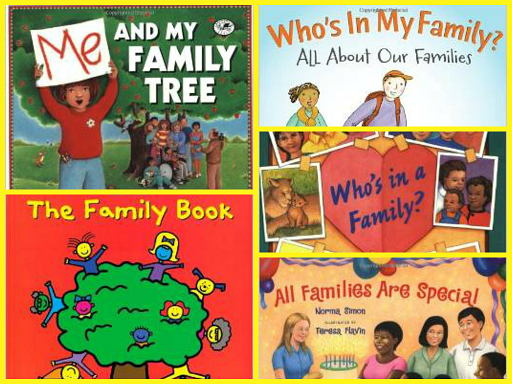 Books about FAMILY for Preschool and Kindergarten