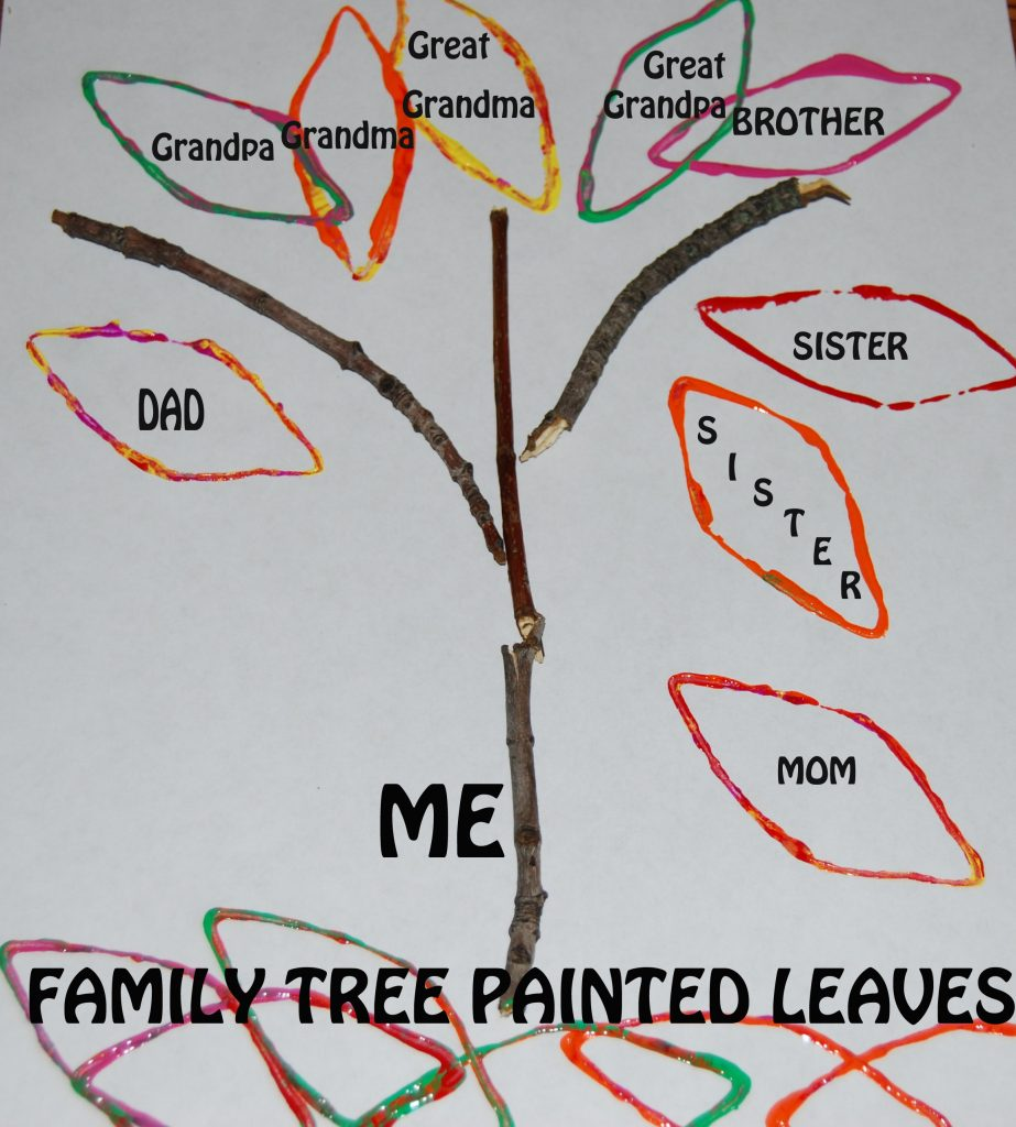Family Tree Crafts for Preschool and Kindergarten