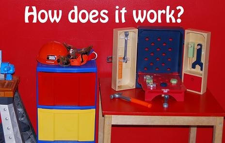 Home Preschool Set-up