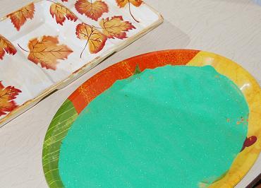 Leaf Reveal and Sort for Preschool