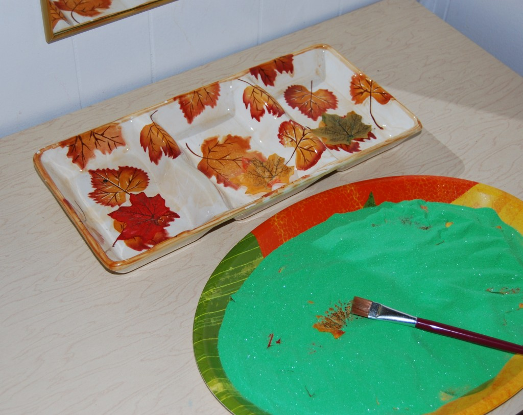 Leaf Sort and Reveal Sugar Trays