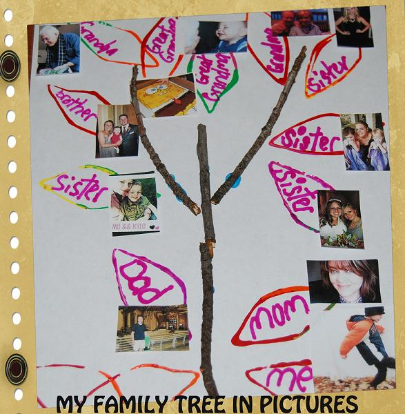 Family Tree Craft for Preschool and Kindergarten