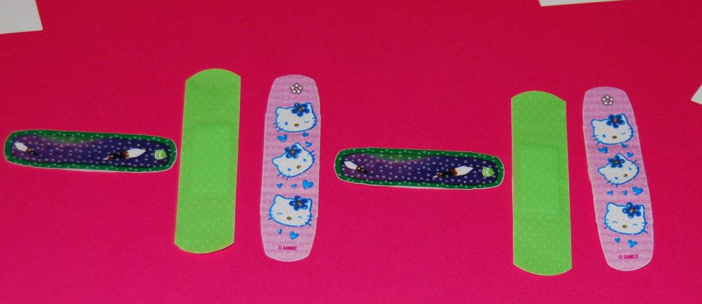 Band-Aid Patterning for Preschool