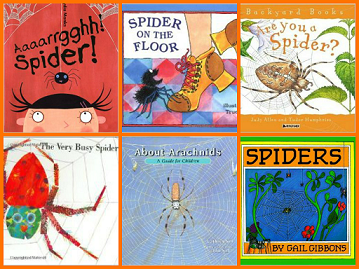 Books About Spiders for Preschool
