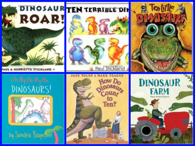 Dinosaur Books for Preschool
