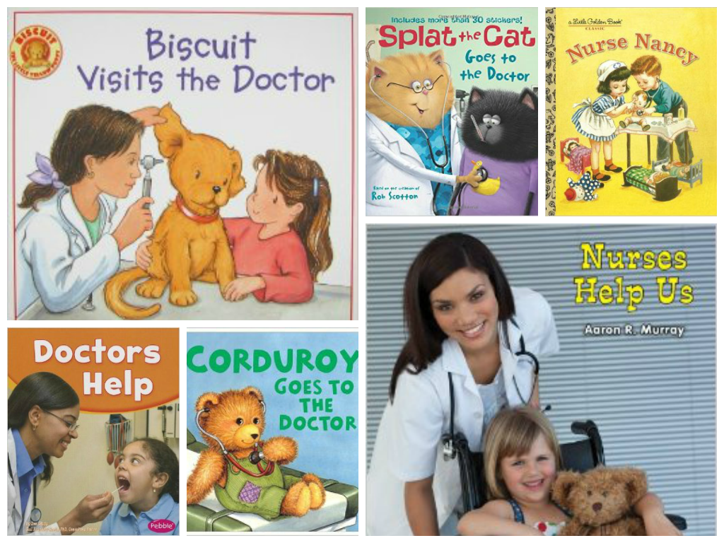 Doctor and Nurse Community Helper Books for Preschool