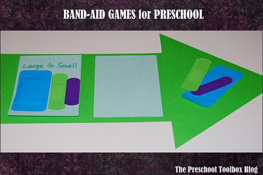 Community Helper Theme for Preschool: Doctor and Nurse Band-Aid Games for Preschool