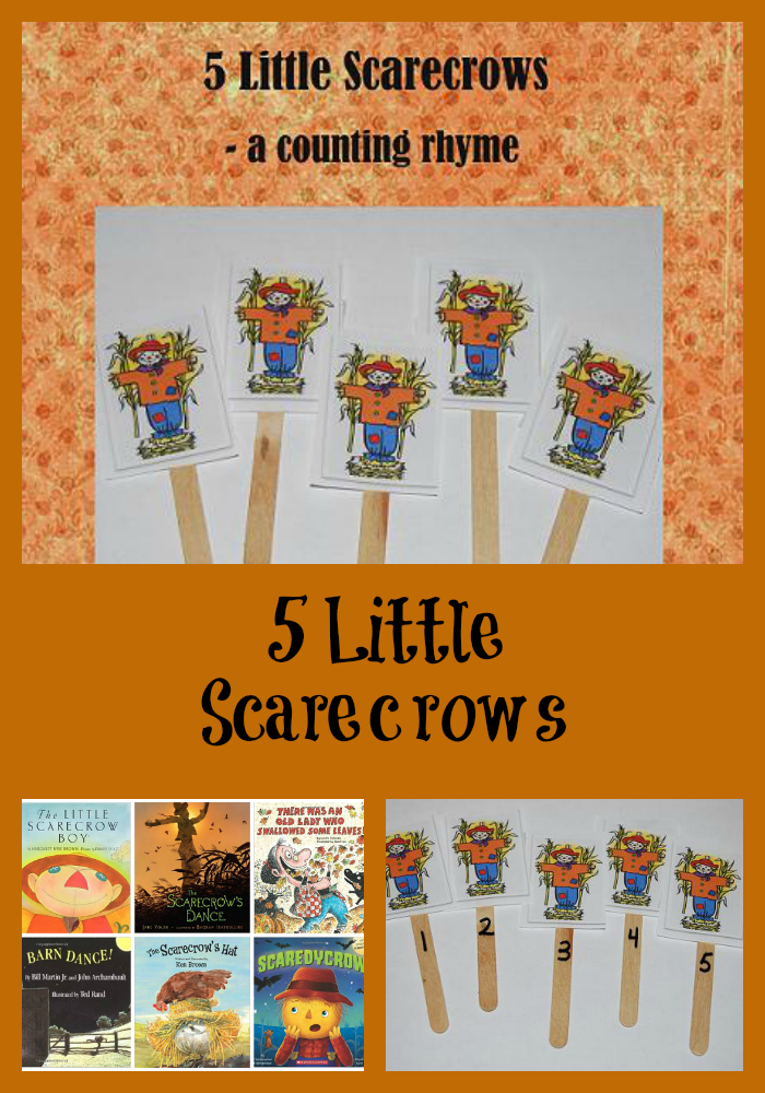 5 Little Scarecrows