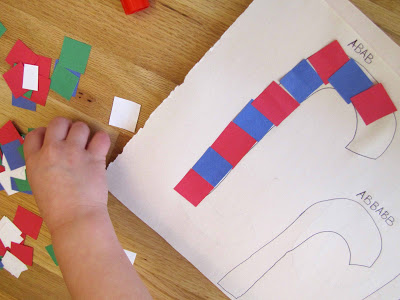 Candy Cane Patterning