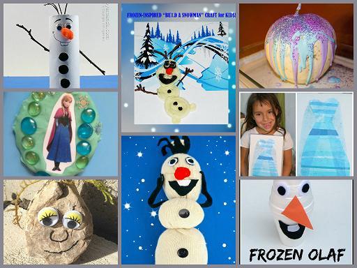 Frozen-Inspired Crafts for Preschoolers