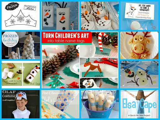 Frozen-Inspired Party Ideas for Preschool