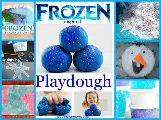 Frozen Sensory Play Ideas for Preschool and Kindergarten