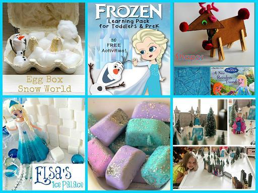 Frozen-inspired Learning Activities for Preschool