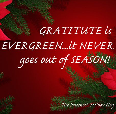 The Giving Tree – An Attitude of Gratitude in Preschool!