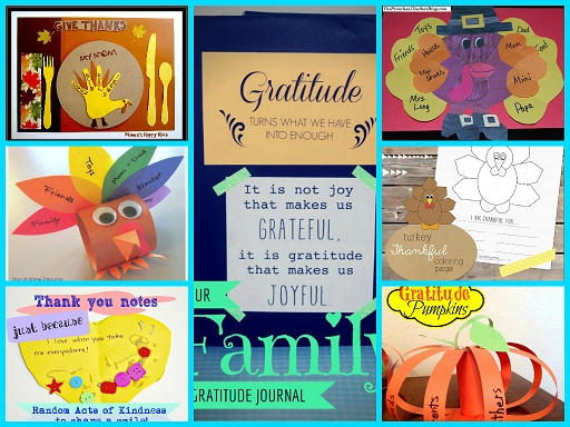 Activities for Gratitude and Thankfulness for Young Kids