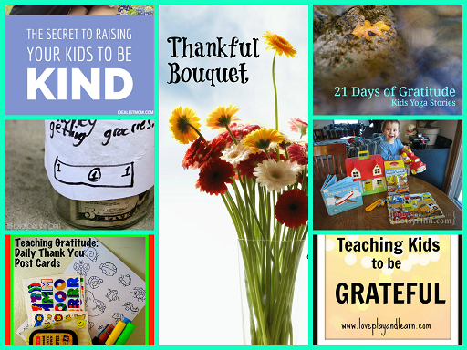Activities for Teaching Kids About Gratitude and Thankfulness