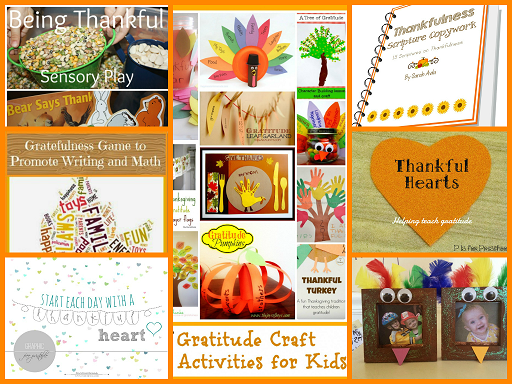 Gratitude and Thankfulness Activities for Kids