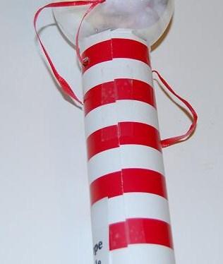 Santa Scope Craft for Preschool and Kindergarten