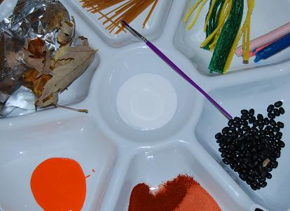Textured Sensory Turkey Feather Learning Craft for Preschool