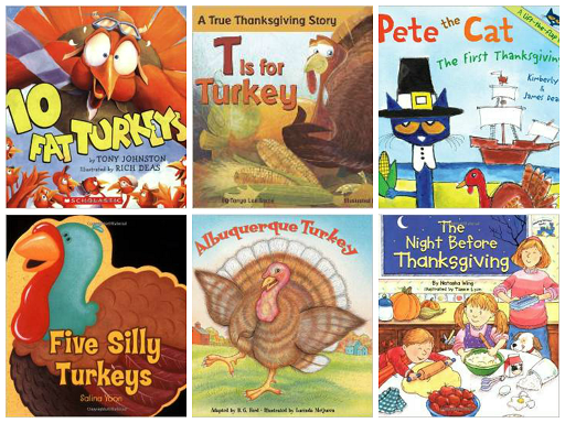 Thanksgiving Books for Preschool