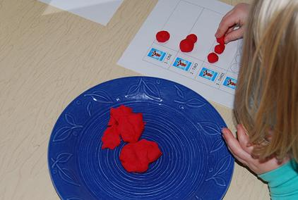 Playdough Math for Preschool 002