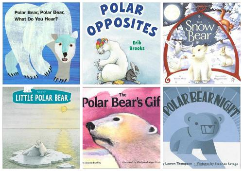 Polar Bear Books for Preschool