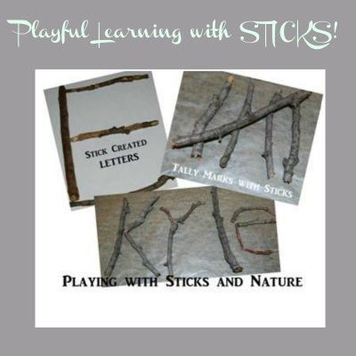 Playful Learning with Sticks