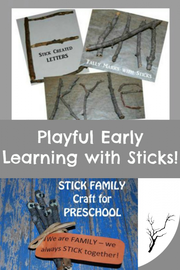 Frugal and Playful Learning with Sticks in Preschool!